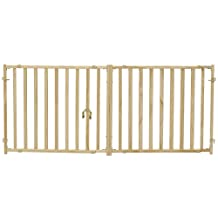 Midwest Baluster Pet Gate, 53-Inch to 96-Inch Wide by 24-Inch Tall