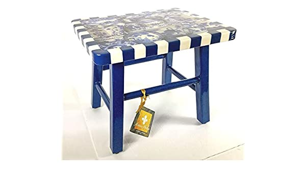 Fabulous Amazon Com Annie Modica Imari 12 Footstool Step Stool Machost Co Dining Chair Design Ideas Machostcouk