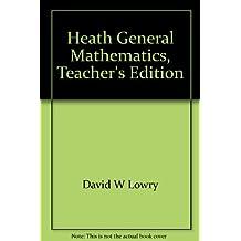 Heath General Mathematics, Teacher's Edition