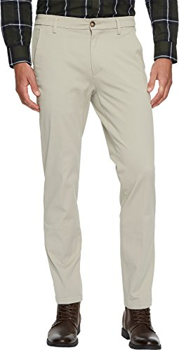 Dockers Men's Slim Tapered Fit Workday Khaki Smart 360 Flex Pants Safari Beige 38 34 ()