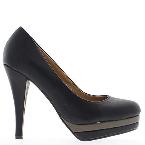 heel cm 5 platform 5 cm and pumps black 2 11 gwB7AAq