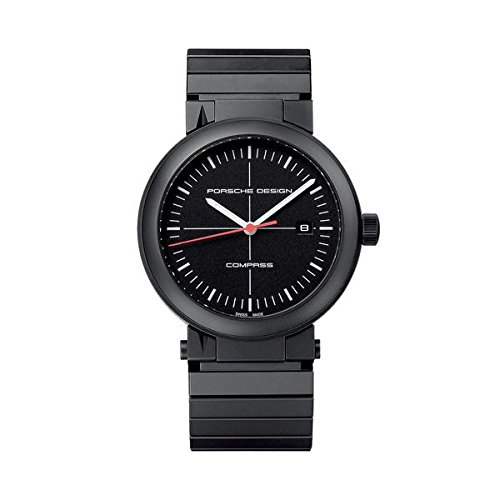 Porsche Design Compass Black PVD Titanium Mens Watch Calendar 6520.13.41.0270