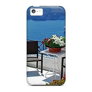 High Quality YhgpBWh7647FpiMY Santorini Isl Aegean Sea Tpu Case For Iphone 5c