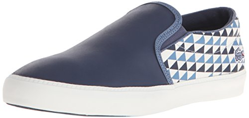 Lacoste Mens Gazon 116 1 Mode Sneaker Marine