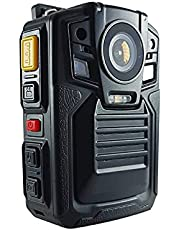 Body Worn Camera with Audio,1296P UHD, Waterproof, 2 Inch Display, Two Replaceable Batteries, Night Vision, Shockproof, IP68, 170° Wide Angle, CAMMHD Police Cameras (Built-in 64GB)…
