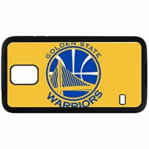 Personalized Samsung S5 Cell phone Case/Cover Skin Golden State Warriors Logo Sporty Black