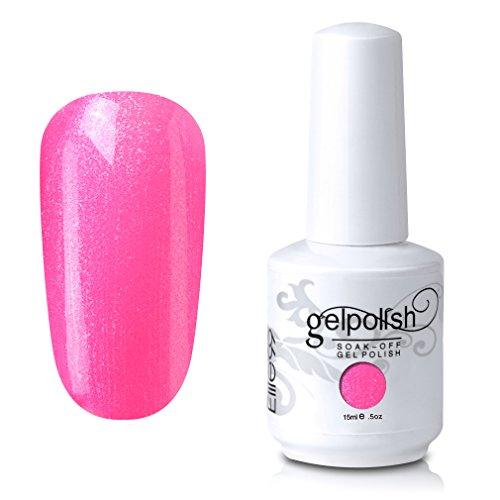 Qimisi Soak Off Gel Polish Lacquer UV LED Nail Art Manicure Kit 4 ...