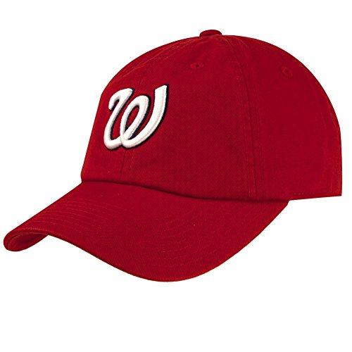 Washington Senators Washed Cotton Twill Baseball Cap by American Needle Washington Senators Logos