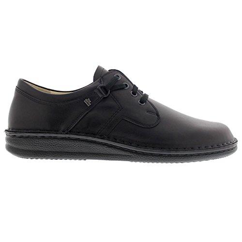Finn Comfort Men's Vaasa-1000, Black Nappa, 45 EU (11 D(M) US) (Finn Shoes)