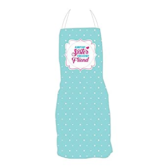 YaYa CafeTM Birthday Gifts For Sister Always My Forever Friend Apron Amazonin