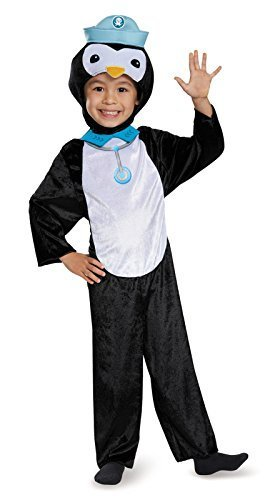 Peso Octonaut Costume (Disguise Peso Penguin Classic Octonauts Silvergate Media Costume, Small/2T by Disguise)