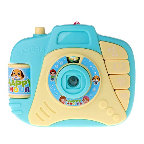 Price comparison product image Goodqueen Simulation Camera Toy Puzzle Projection - Blue