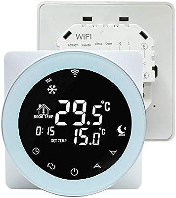 Termostato inteligente con controlador de temperatura WiFi ...