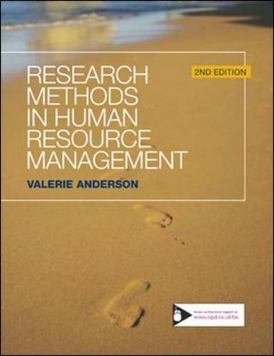 Research Methods in Human Resource Management ebook
