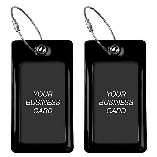 Luggage Tags TUFFTAAG, Business Card Holder, Suitcase Labels, Travel Accessories by ProudGuy