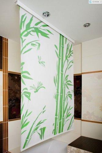 KS Handel 24 HALB-Kassetten DUSCHROLLO 4 Breiten 9 Designs ZUR Wahl DUSCHVORHANG Weiss GRAU GRÜN BLAU (180, Quadro 3D) B06X3R1C8L Duschvorhnge