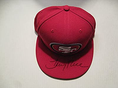 Jerry Rice autographed/Signed San Francisco 49ers Hat COA