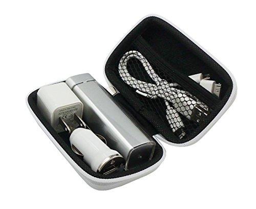 - Cell Phone Power Bank Charging Gift Set (WHITE)