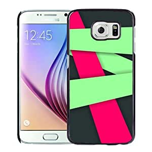 Fashion DIY Custom Designed Samsung Galaxy S6 Phone Case For Red Green Lines 640x1136 Phone Case Cover