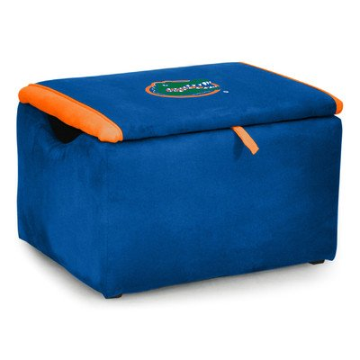 Kidz World Upholstered Storage Bench Toy Box University of Florida by Kidz World