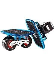 Gratis Skates, Lichtmetalen Bracket, Roller Drift Skates Plate Anti-Slip Board Aluminium Vrachtwagen met 72 mm PU Wielen