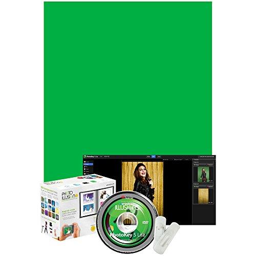 Software : Westcott Illusions Green Screen PhotoKey 6 Lite Software Bundle