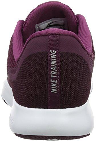 Allenatore Flex Nike 5 Scarpe Da Tè Bacca / Argento Metallizzato