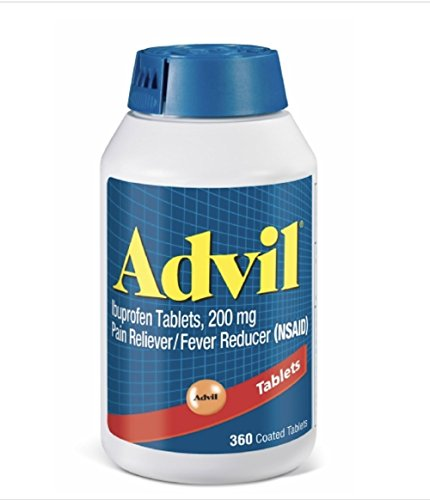 Advil Tablets, 200mg - 1 Pack (360 Tablets Each ) - Advil Tablets