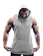 Simbama gym stringer tank tops, is a gym shirt with multi-functions. Whenever doing workout in gyms, training at home, running in the park, or just wearing it to meet friends, it's a good choice. This Workout Tank Top features breathable, swe...