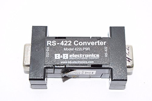 1 B&B Electronics 422LP9R Port Powered RS-232 to RS-422 Converter RoHS 232 Data Converter Unit