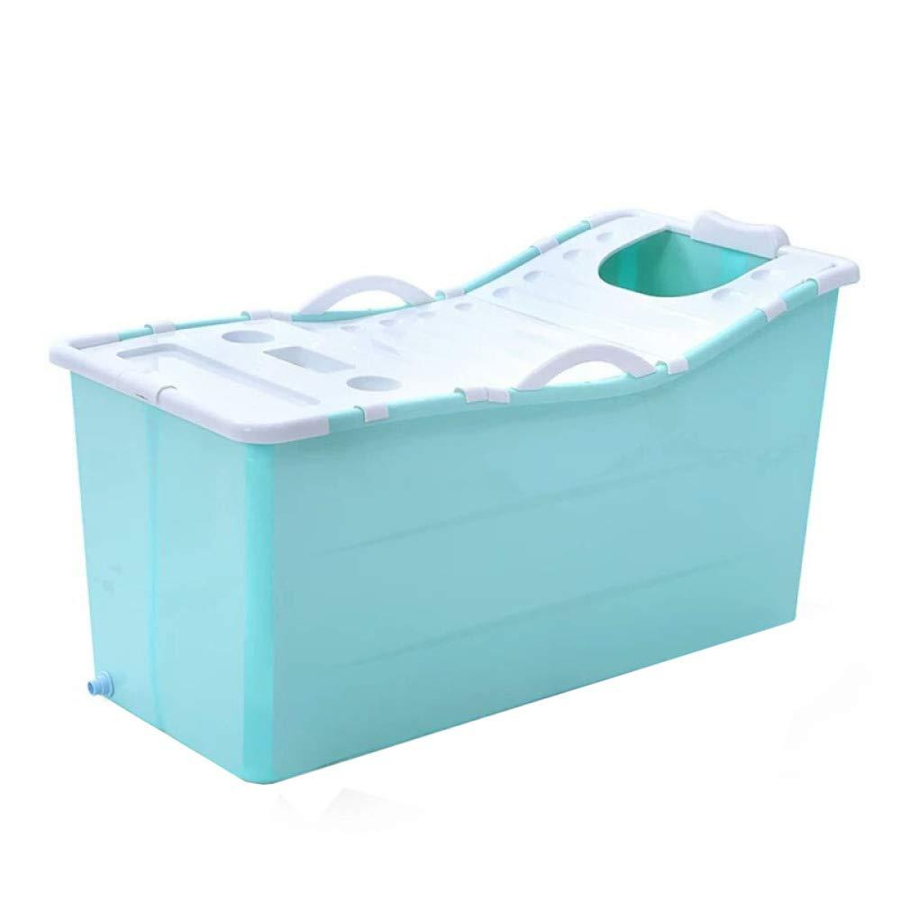 WU LAI Tragbare Badewanne | PVC-Faltbadewanne Fü r Erwachsene | Aufblasbare Badewanne | Pool Fü r Zuhause | Aufblasbarer Pool Fü r Kinder, Pink-117x52.5x63cm doune