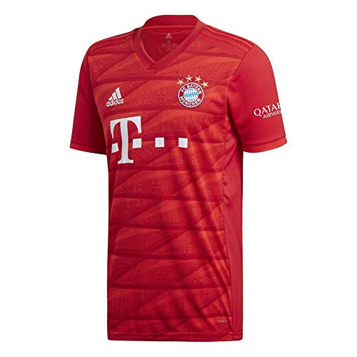 adidas 2019-2020 Bayern Munich Home Football Soccer T-Shirt Jersey (Kids)