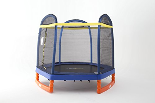 SkyBound Super 7 The Perfect Kid's Indoor/Outdoor Trampoline, 84