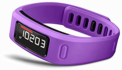 Garmin vívofit Fitness Band - Purple Bundle (Includes Heart Rate Monitor)