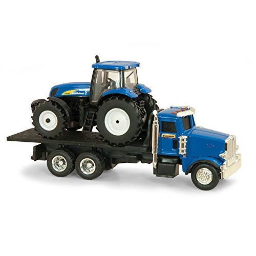 Ertl Collectibles New Holland Dealer Truck with T7030 Tractor