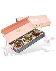 VAHDAM, Juego De Regalo De Té Surtido - BLUSH - 3 tés en una caja de regalo de muestra de té ?? | Ingredientes 100% naturales - regalo de cumpleaños perfecto para mamá | Regalos para las mujeres