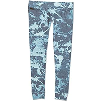 Dakine 10000132 Womens Kirra Fleece Legging, Blue Stonewash-L
