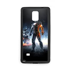 Unique Disigned Phone Case With Iron Man Image For Samsung Galaxy Note 4
