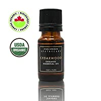 Cedarwood Essential Oil - Certified Organic - 10ml 1-100% Pure