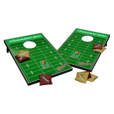 NCAA Cornhole Game Set NCAA Team: Marshall Thundering Herd by Tailgate Toss