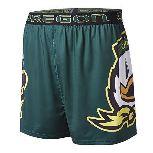 FANDEMICS NCAA University of Oregon Men's Boxer Short, Men's Medium (32-34) (Oregon Shorts Mens)