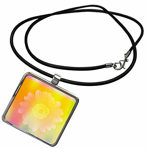 3drose-patricia-sanders-creations-pastel-flower-sunny-delight-floral-art-necklace-with-rectangle-pen