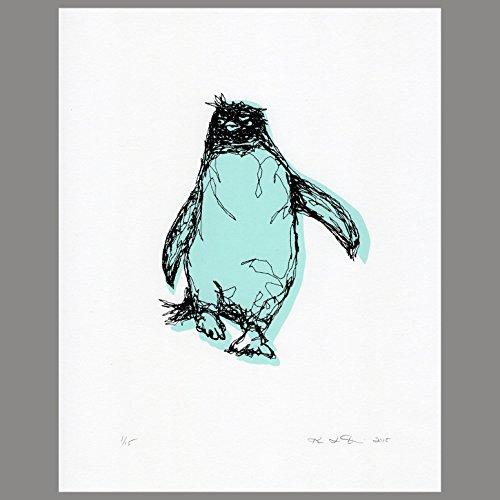 Penguin Serigraph