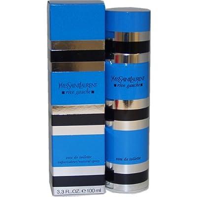 Rive Gauche By Yves Saint Laurent For Women. Eau De Toilette Spray 3.3 Oz