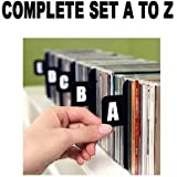 DVD DIVIDERS (Section Separators CD Dividers/DVD Dividers/ Bin Cards / Separators)