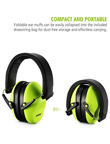 BAG Mpow BABY CHILDRENS Ear Defenders Earmuffs Hearing Protection Noise Reduce