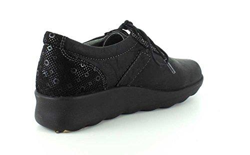 ... Wolky Kvinners Nido Sneaker Svart Cartagena