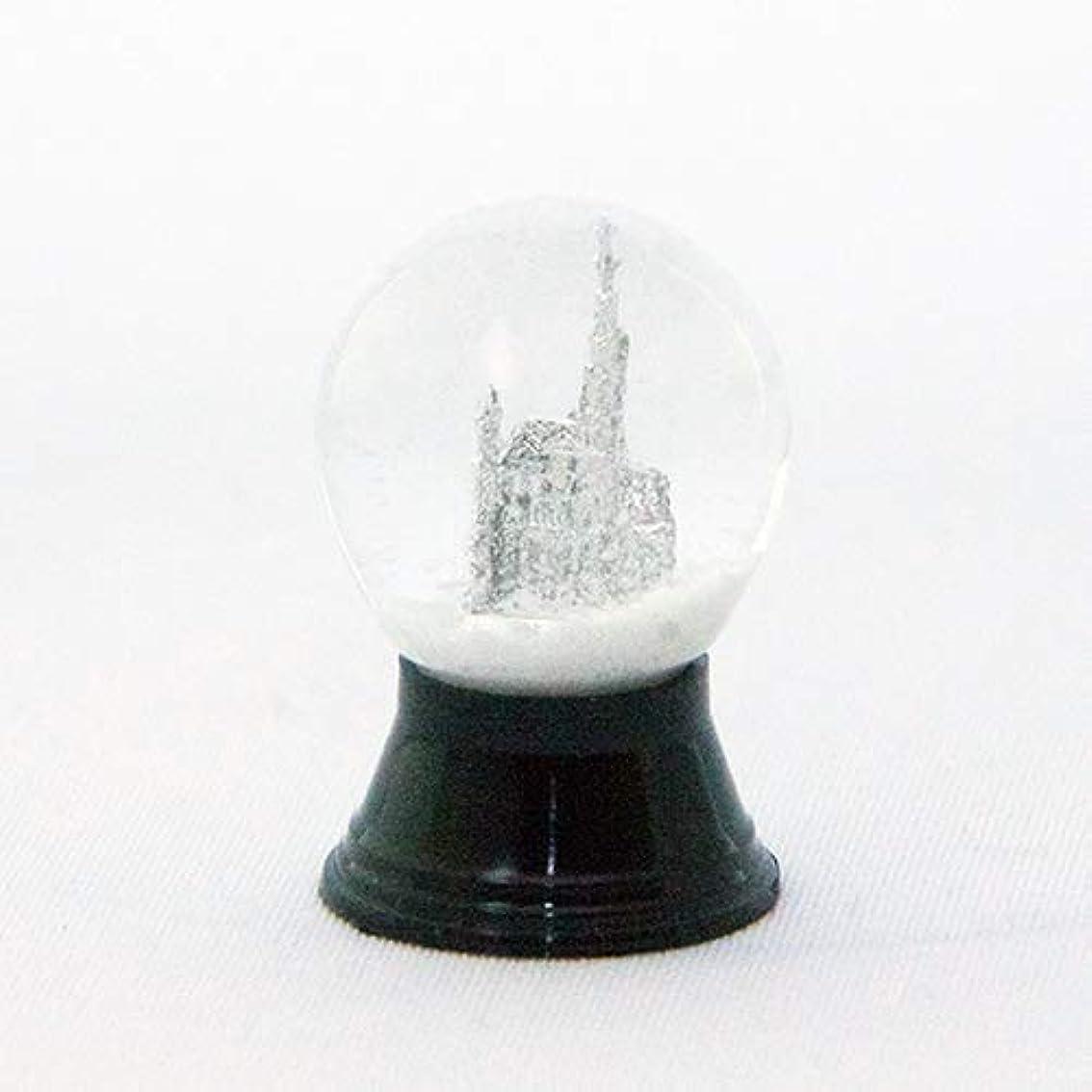 ぎこちない甘やかすアクティビティスノードーム自作キット ガラス製 LLサイズ