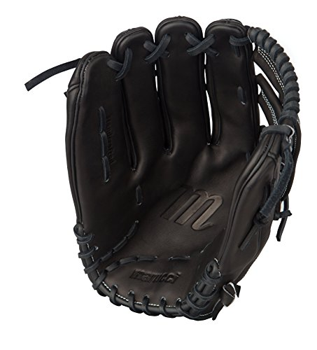 Marucci Founders Series H-Web Outfield Glove, Black, 12.75', Left Hand Throw