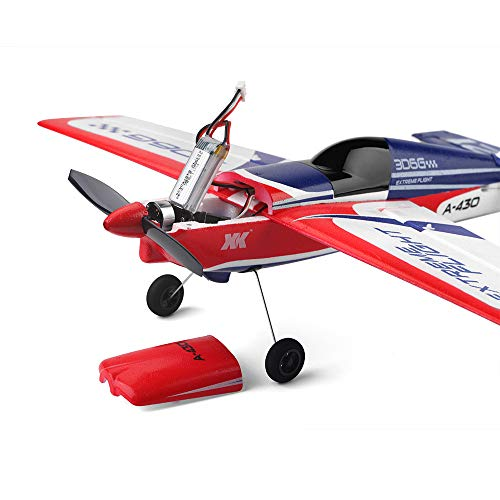 Remote Control Airplane XK A430 2.4G 5CH Brushless Motor 3D6G System RC Flying Glider EPS Aircraft Birthday Party Favor Plane Outdoor Sports Toys-Super Easy to Fly by Sipring (Image #3)